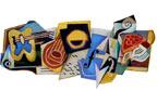 Juan Gris é homenageado com doodle cubista