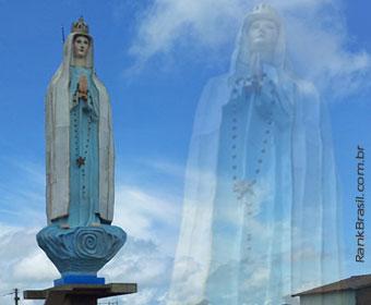 Missa inaugura oficialmente a maior estátua de Nossa Senhora do país