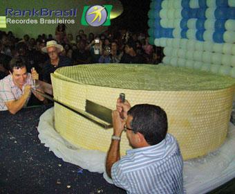 Ipanema pretende fazer queijo gigante de 1,4 mil kg