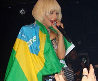 Lady Gaga faz show no Brasil pela primeira vez