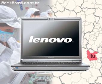 Brasil terá fábrica da Lenovo em Itu com 325 mil m²