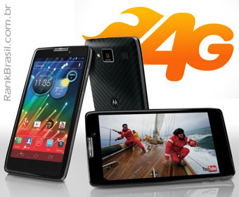 Motorola lança 1° celular 4G produzido no Brasil