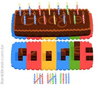 Google completa 14 anos e celebra data com bolo animado