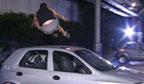 Cearense deve pular sobre seis carros, sem tocar nos veículos